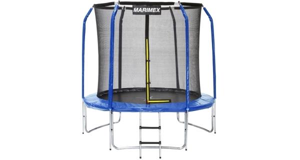 Trampolína Marimex 244 cm + ochranná síť + schůdky ZDARMA
