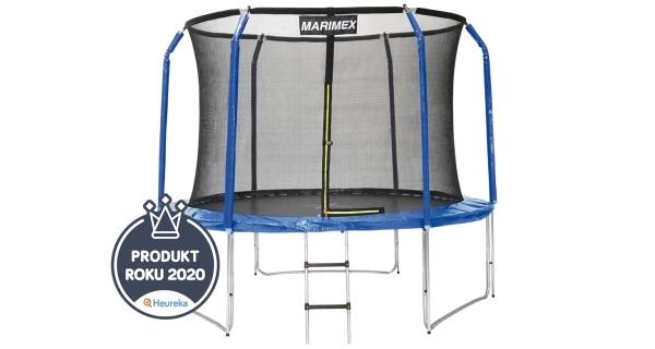 Trampolína Marimex 305 cm + vnitřní ochranná síť + schůdky ZDARMA