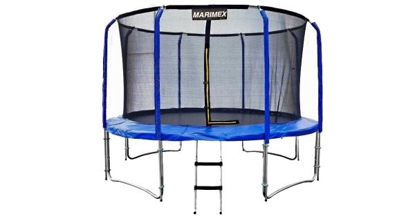 Trampolína Marimex 396 cm + vnitřní ochranná síť + žebřík ZDARMA