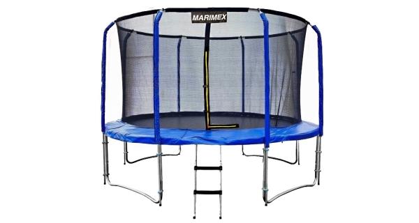 Trampolína Marimex 427 cm + vnitřní ochranná síť + žebřík ZDARMA