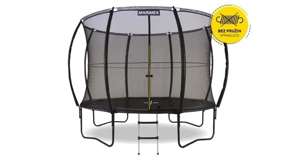 Trampolína Marimex Comfort 305 cm + ochranná síť + schůdky ZDARMA