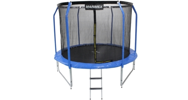 Trampolína Marimex  Plus 244 cm + vnitřní ochranná síť + schůdky ZDARMA