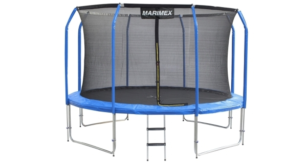 Trampolína Marimex Plus 366 cm + vnitřní ochranná síť + schůdky ZDARMA