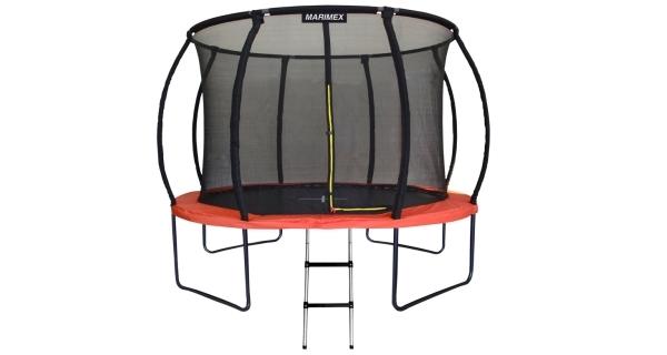 Trampolína Marimex PREMIUM 305 cm + vnitřní ochranná síť + schůdky ZDARMA