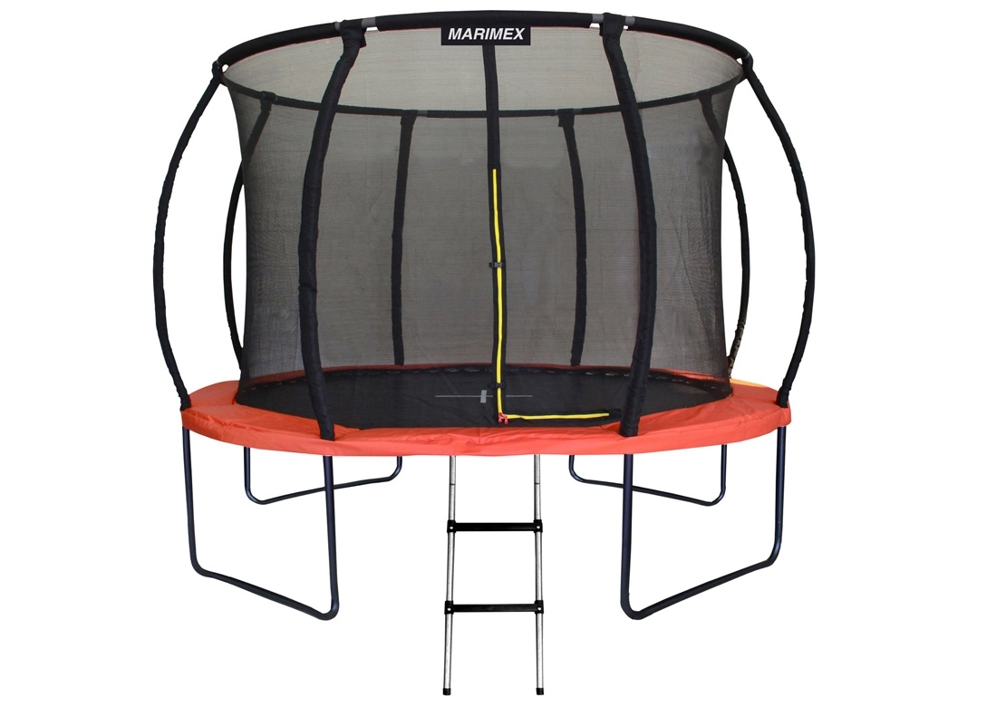 Marimex Trampolína Marimex Premium 305 cm + vnitřní ochranná síť + schůdky ZDARMA - 19000058