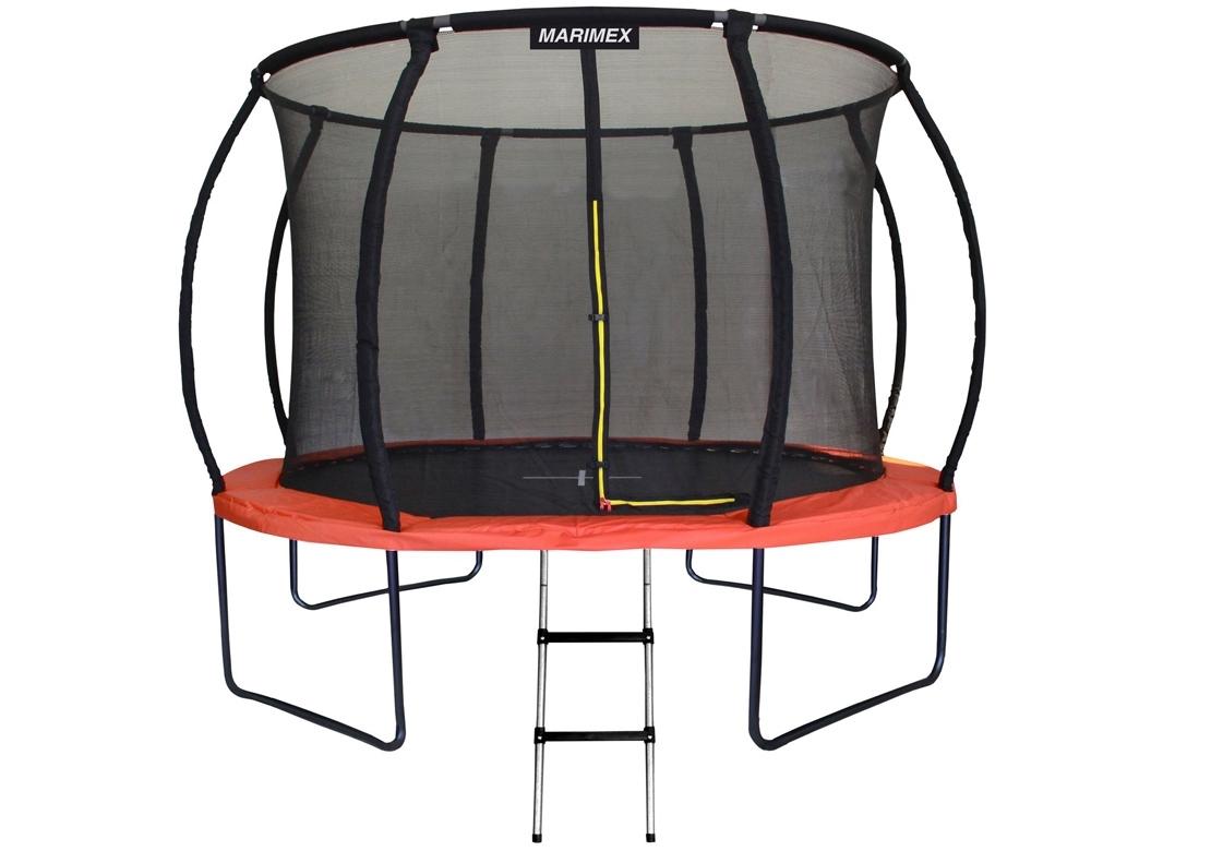 Marimex Trampolína Marimex PREMIUM 305 cm + vnitřní ochranná síť + schůdky ZDARMA - 19000085