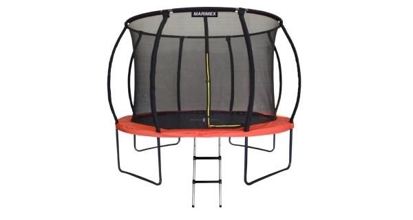 Trampolína Marimex PREMIUM 396 cm + vnitřní ochranná síť + schůdky ZDARMA