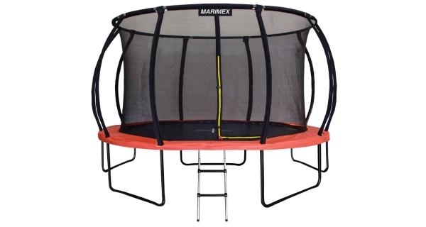 Trampolína Marimex Premium 457 cm + vnitřní ochranná síť + schůdky ZDARMA