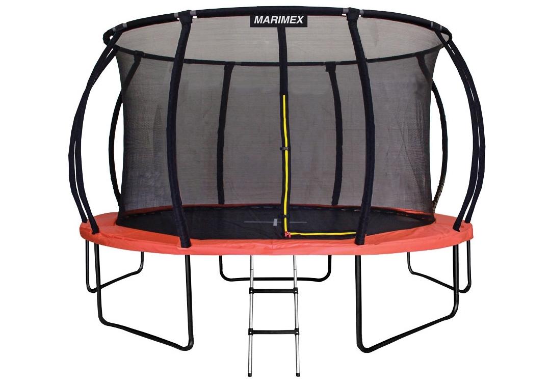 Marimex Trampolína Marimex Premium 457 cm + vnitřní ochranná síť + schůdky ZDARMA - 19000060
