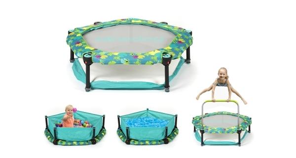 Trampolína pro děti 4v1 - 100cm - Frogs