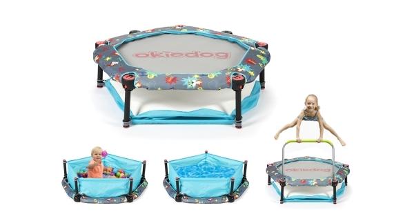 Trampolína pro děti 4v1 - 100cm - Superheroes