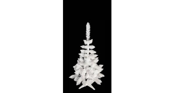 Umělý stromeček - Jedle De Lux - bílá - 130 cm