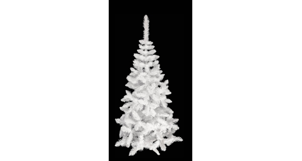 Umělý stromeček - Jedle De Lux - bílá - 180 cm