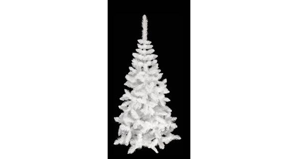 Umělý stromeček - Jedle De Lux - bílá - 220 cm