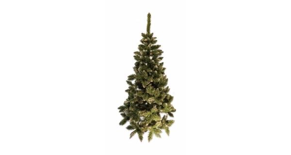 Umělý stromeček - Jedle De Lux - stříbrná - 220 cm