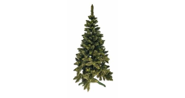 Umělý stromeček  - Jedle De Lux - zelená - 160 cm
