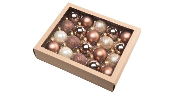Vánoční koule 4,5 cm - severský set
