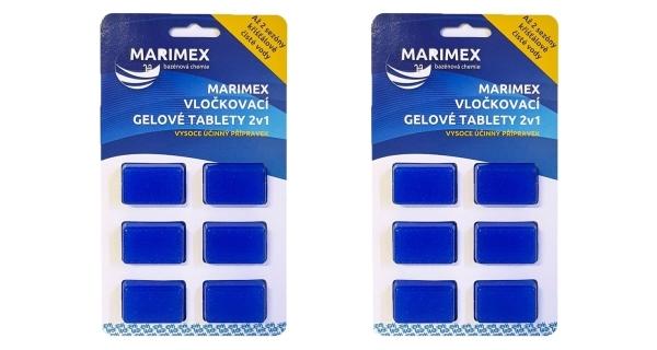 Vločkovací gelová tableta 2v1 Marimex - sada 2ks