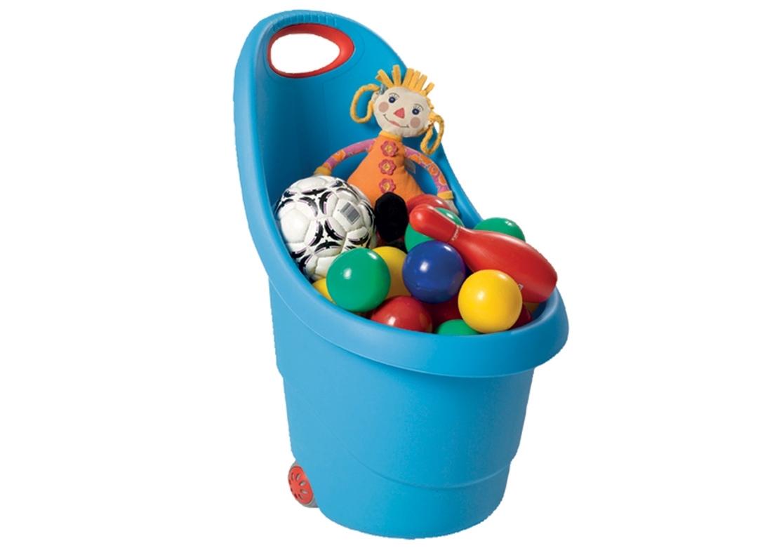 Rojaplast Vozík plastový - modrý - 11640045