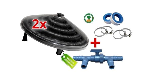 Výhodná sada - 2x solární pyramida Sun + regulační ventil