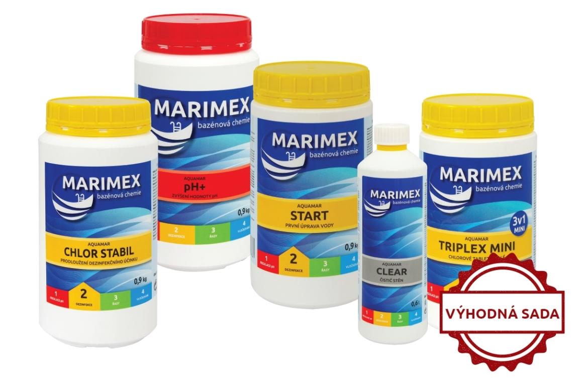 Marimex Výhodný set bazénové chemie - malý - 10340056
