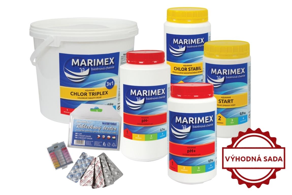 Marimex Výhodný set bazénové chemie - velký - 10340059