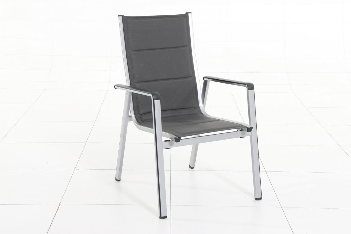 Marimex Zahradní křeslo vysoké - hliník - 11640225
