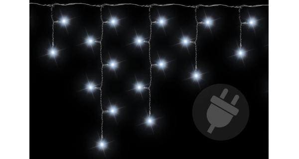 Závěs světelný 11,9 m - 600 LED - studená bílá