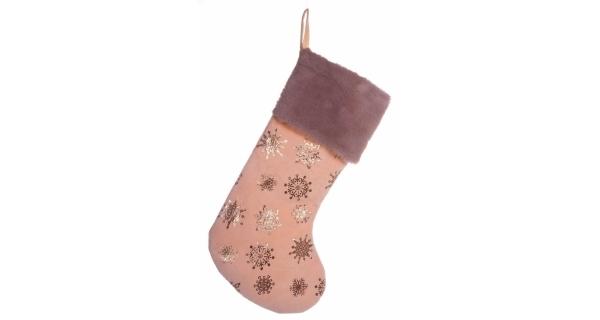 Závěsná ponožka - růžová